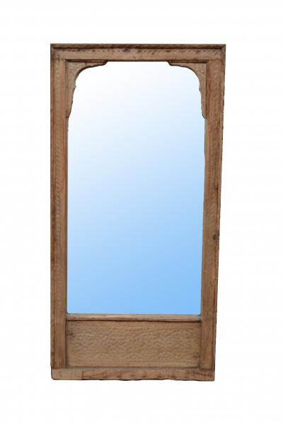 Ancien cadre de balcon miroir