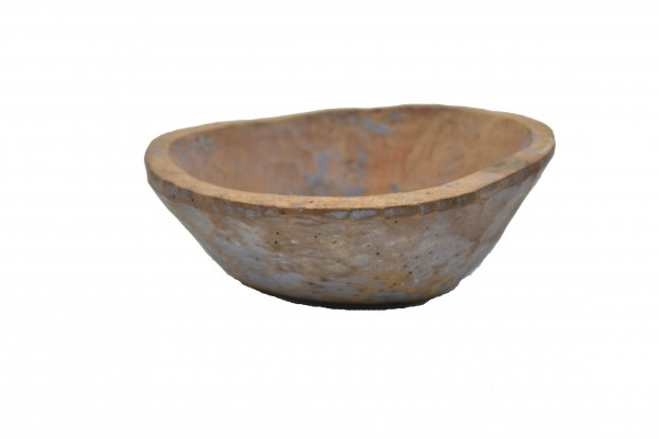 Ancien plat en bois
