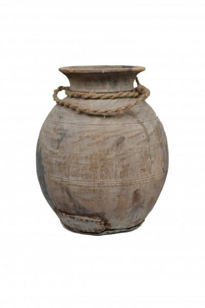 ancien pot en bois