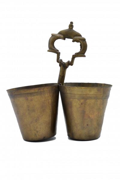 Ancien verre bronze