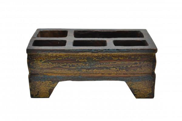 Ancienne boite Kinangan coloré