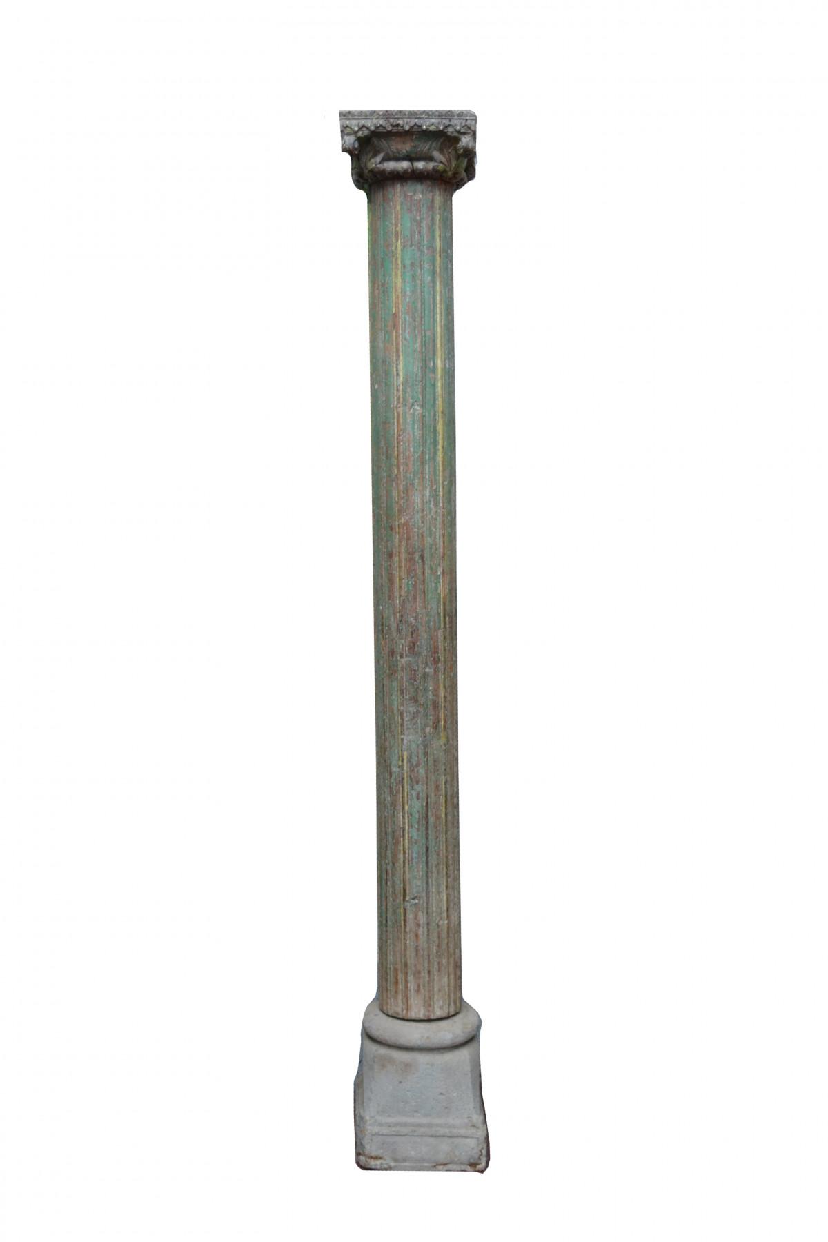 Ancienne colonne sculptée 1