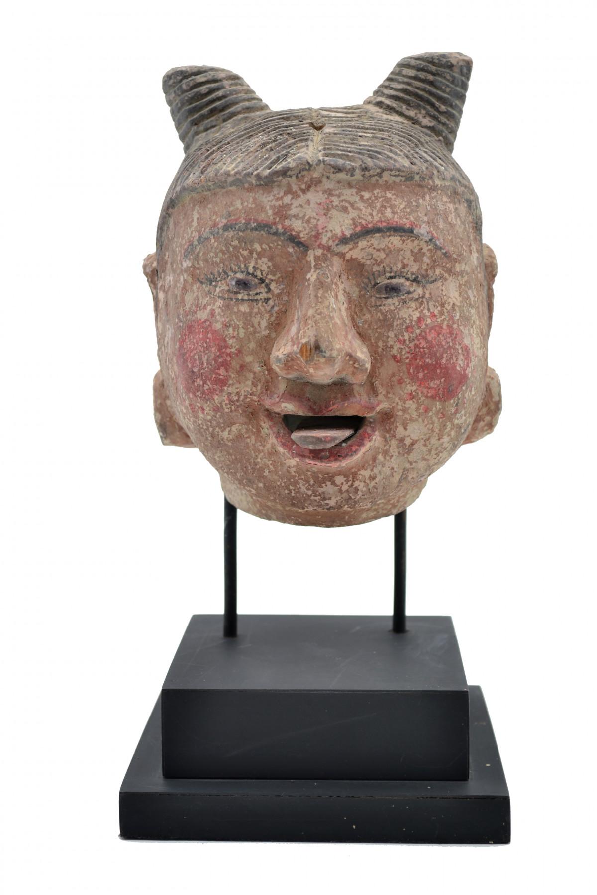 Ancienne tête de marionnette 1