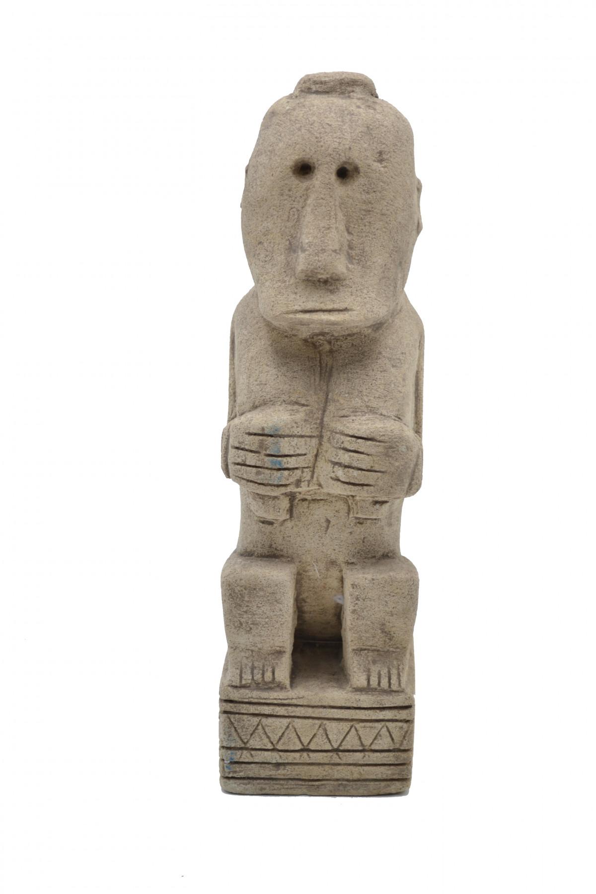 Statue Timor en pierre 1