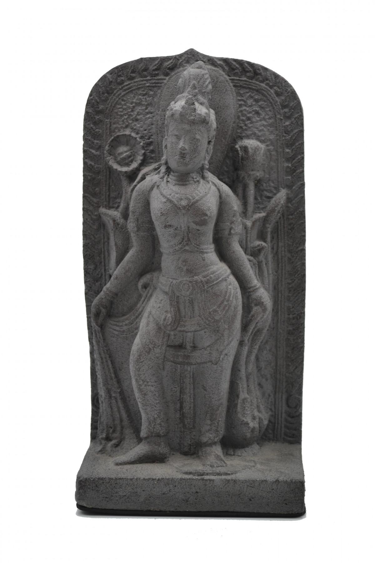 Panneau Dewi en pierre de lave  1