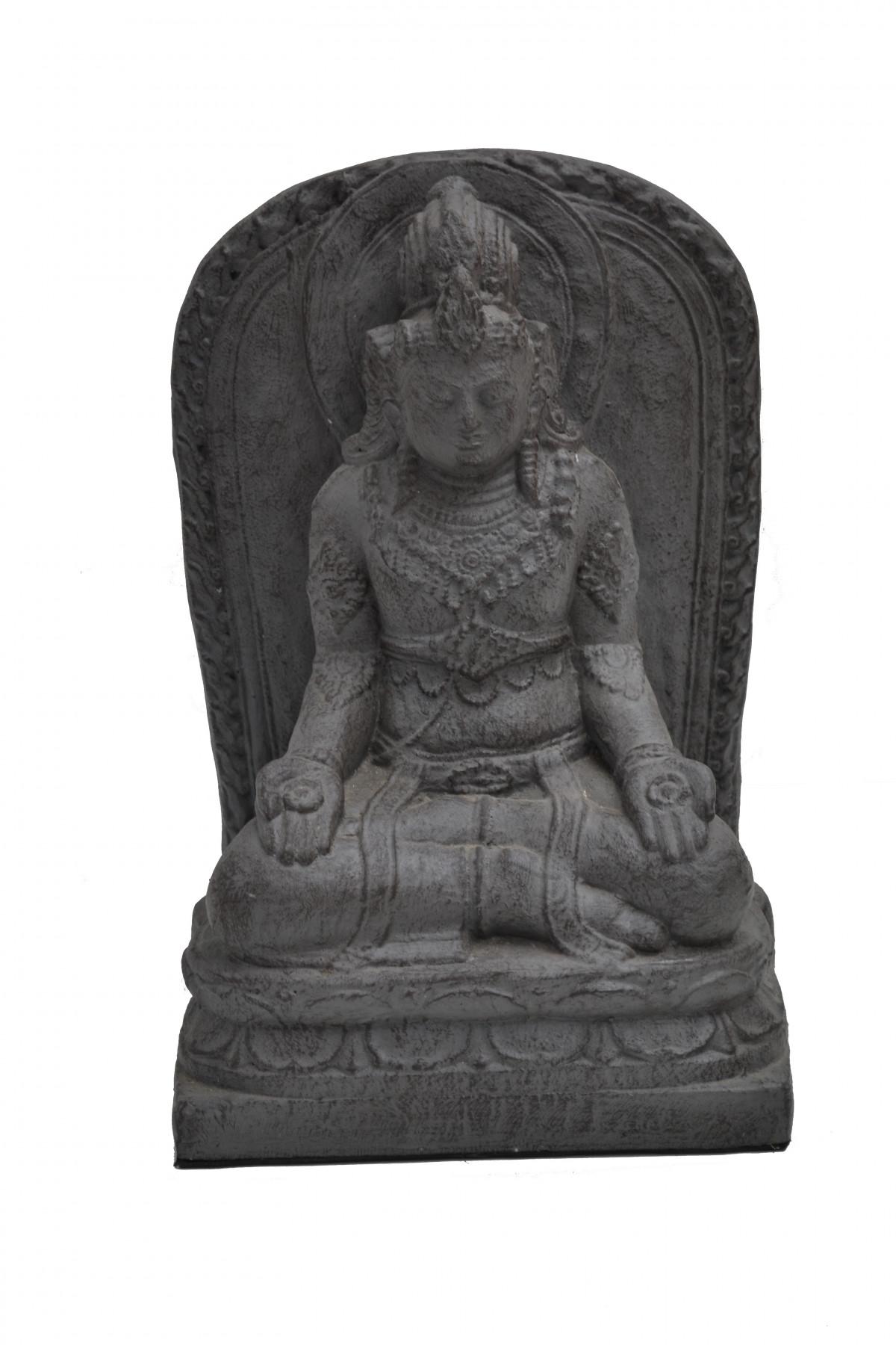 Panneau de Vishnu en pierre de lave reconstitué 1