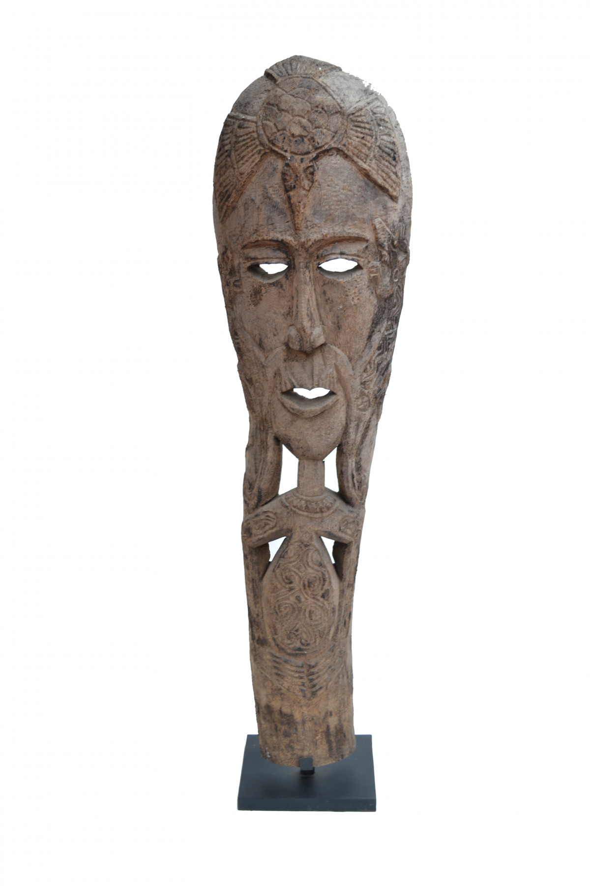 Grand masque bois Timor 1