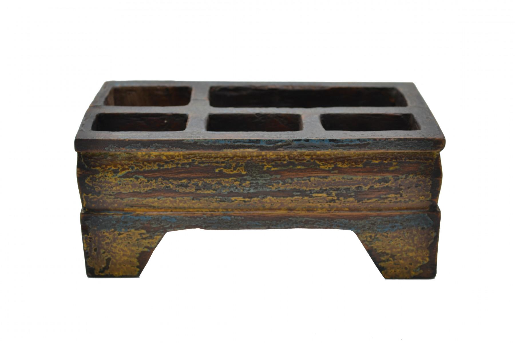 Ancienne boite Kinangan coloré 1