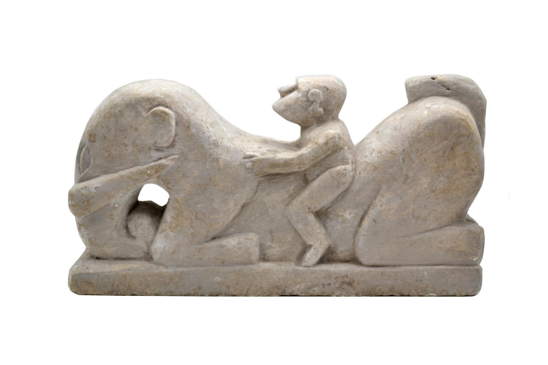 Cavalier en pierre Timor 1