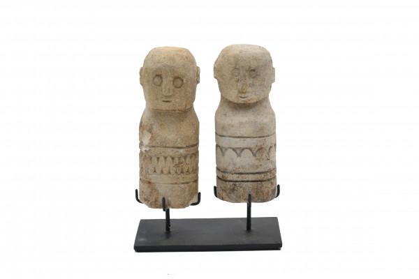 Couple en pierre
