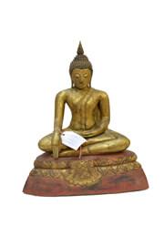 Bouddhas en bois