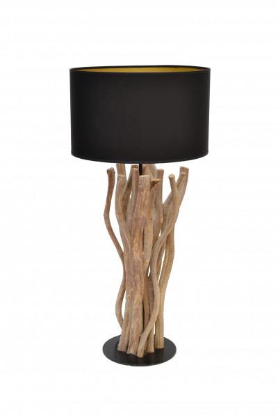 Lampe liane abat jour