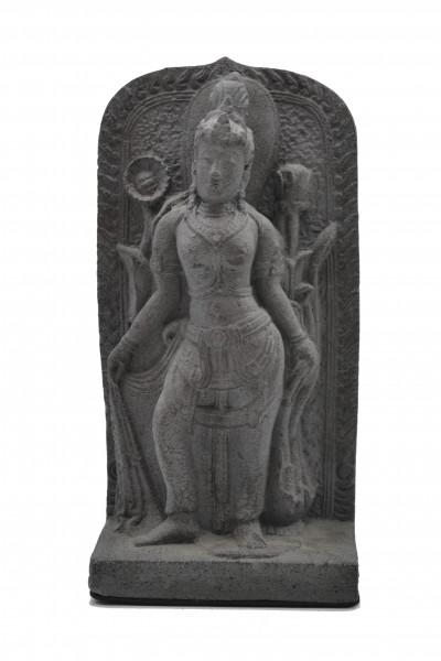 Panneau Dewi en pierre de lave