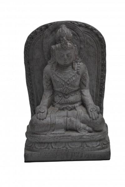 panneau Vishnu en pierre de lave reconstitué