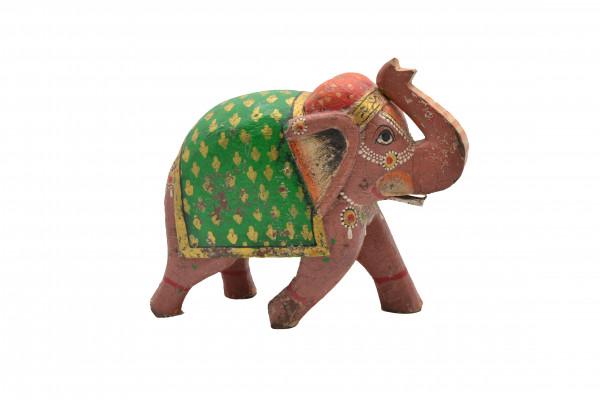 Petit éléphant peint
