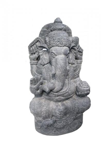 Ganesh pierre de lave reconstitué